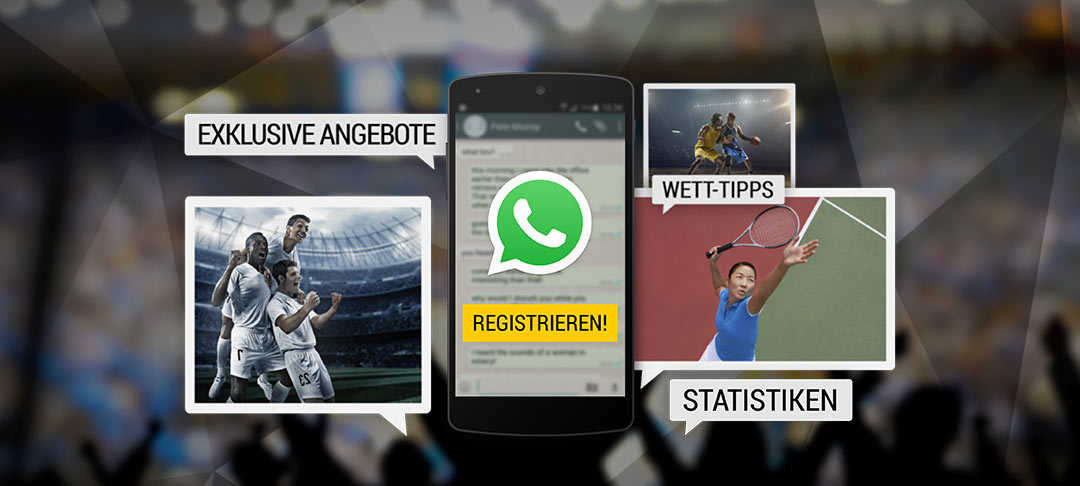 WhatsApp News: Statistiken, Wett-Tipps, exklusive Angebote!